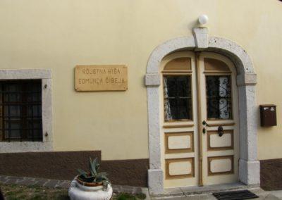 Rojstna hiša Edmunda Čibeja pri Slokarjih